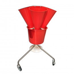 Rotary killing cone stand