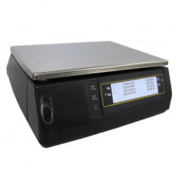 Receipt printing scale