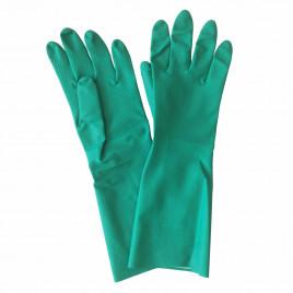 Waterproof nitrile gloves