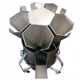 Stainless steel rotary killing cone stand